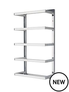 lloyd-pascal-5-tier-chrome-wall-towel-rail-ndash-square-tube