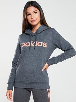 adidas-essentials-overheadnbsphoodienbsp--dark-grey-heathernbsp