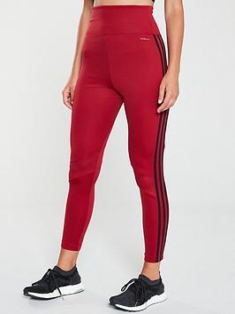 adidas-d2mnbsp3-stripes-78-leggings-maroonnbsp