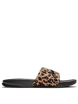 nike-leopard-benassi-jdinbsp--blackbrownnbspnbsp