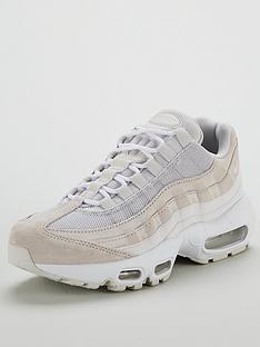 on sale d31c8 0e472 Nike Air Max 95 Premium - Grey White