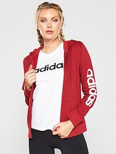 adidas-essentials-linear-full-zip-hoodie-rednbsp