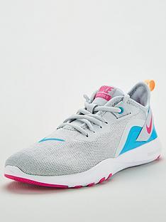 uk availability f422f 78046 Nike Flex Trainer 9 - White Blue