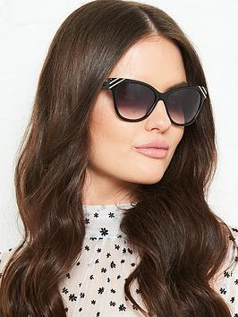 Very Arden Cat Eye Sunglasses - Black Picture
