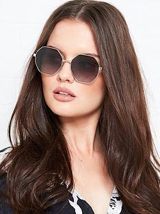 longchamp-octagon-gradient-lens-sunglasses-black