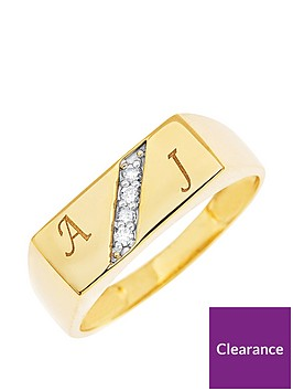 love-diamond-personalised-9ct-gold-diamond-set-mens-signet-ring-2-initial