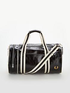 fred-perry-classic-barrel-bag