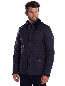 Barbour Barbour Heritage Liddesdale Quilted Jacket - Navy Picture