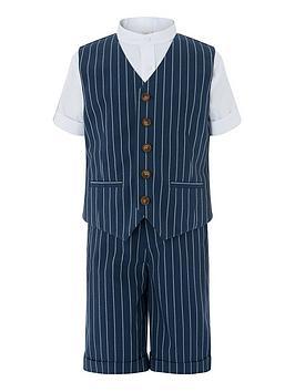 monsoon-boys-finn-stripe-3-piece-short-suit-set-blue