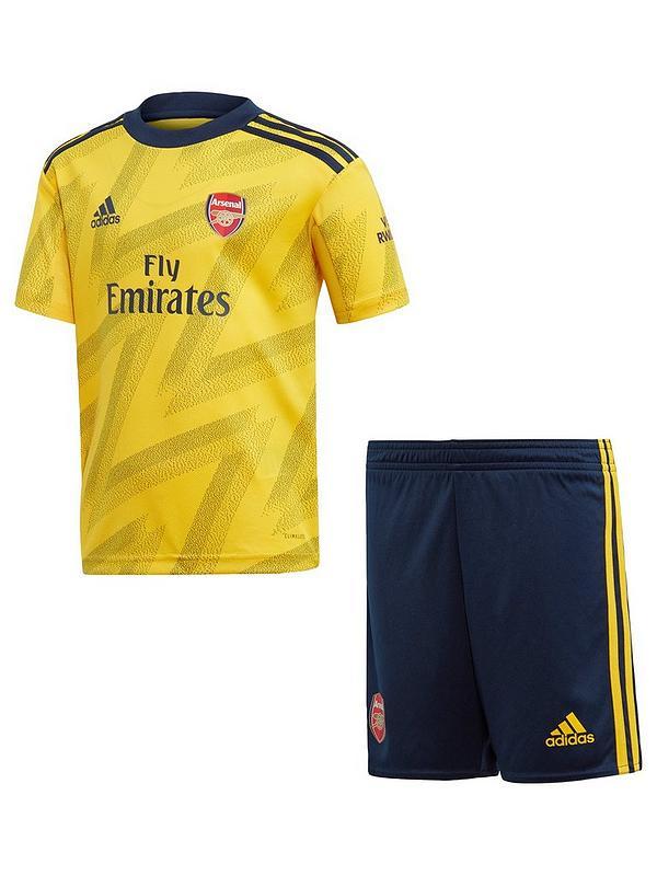 purchase cheap 458e6 69bca Arsenal Infant 19/20 Away Mini Kit - Yellow