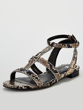 v-by-very-hapur-stud-trim-flat-sandals-snake