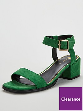 v-by-very-gana-low-block-heel-square-toe-sandals-green