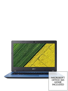 Aspire 3 Intel Pentium N4200, 4GB RAM, 128GB SSD, 14 inch Laptop Now with  Microsoft Office Included - Blue