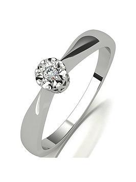 starlight-starlight-9ct-gold-14-carat-eq-diamond-illusion-set-solitaire-ring
