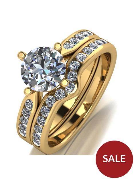 moissanite-9ct-gold-15-carat-eq-two-piece-bridal-set