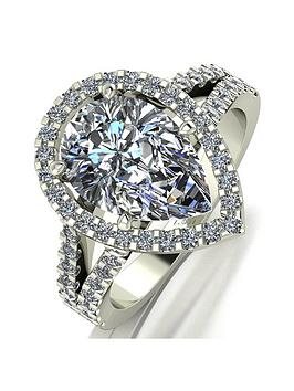 Moissanite Moissanite Special Edition 9Ct White Gold Lady Lynsey 5 Carat  ... Picture