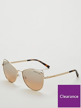 michael-kors-gold-cateye-sunglasses