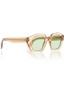 burberry-geometric-square-frame-sunglasses-browngreennbsp