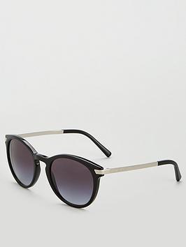 michael-kors-black-oval-sunglasses