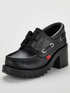 kickers-klio-lace-heelednbspshoes-black