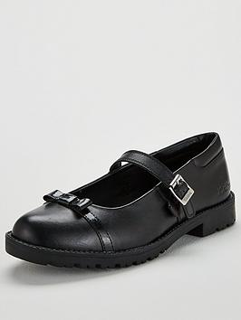 kickers-lachly-bow-flat-shoes-black