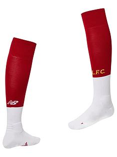 d5fb11282 New Balance Liverpool FC Mens 19 20 Home Socks - Red