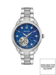 bulova-bulova-blue-crystal-set-automatic-skeleton-eye-dial-stainless-steel-bracelet-ladies-watch