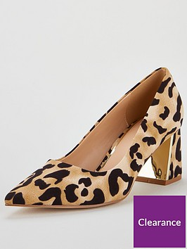 v-by-very-daska-point-block-heel-court-shoes-leopard-print