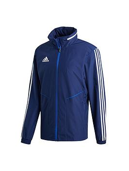 Adidas   Men'S Tiro 3S Hooded Jacket - Navy