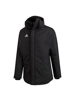 Adidas   Mens Stadium Parka - Black