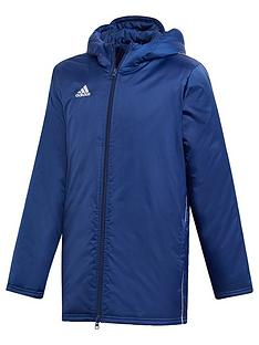 adidas-youth-core-stadium-jacket-navy