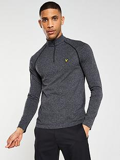 lyle-scott-golf-golf-seamless-midlayer-14-zip-top