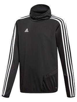 Adidas Adidas Youth Tiro 3 Stripe Hooded Jacket - Black Picture