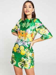 skeena-s-belle-floral-printed-mini-dress-green