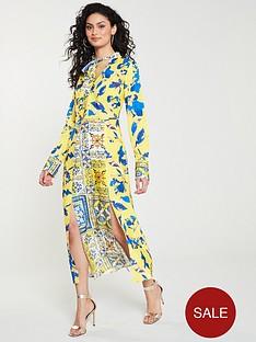 skeena-s-felicity-split-v-neck-midi-dress-multi
