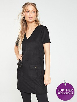 v-by-very-faux-suede-tunic-black