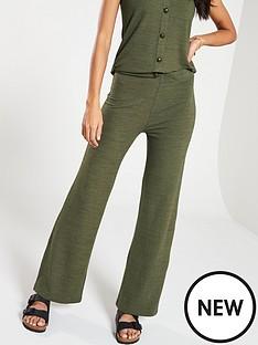 v-by-very-soft-knit-flare-co-ord-pants-khaki