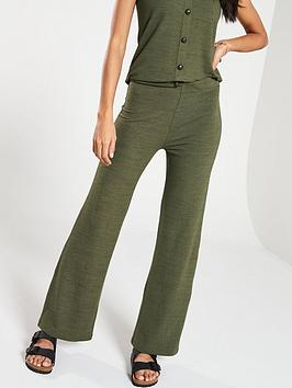 v-by-very-soft-knit-flare-co-ord-pants-khaki