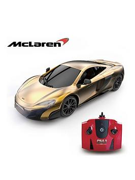 Very  1:24 Scale Mclaren Gold 2.4Ghz Remote Control Car