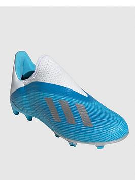 adidas-adidas-junior-x-laceless-193-firm-ground-football-boot