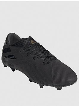 Adidas   Nemeziz 19.2 Firm Ground Football Boot - Black