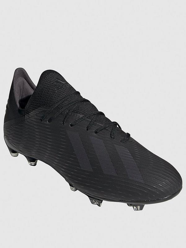 X 19.2 Firm Ground Football Boot - Black