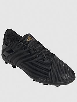 Adidas   Junior Nemeziz 19.4 Firm Ground Football Boots - Black