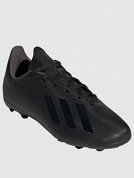 Adidas   Junior X 19.4 Firm Ground Football Boots - Black