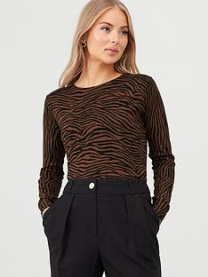 v-by-very-animal-print-crew-neck-jumper-multi