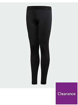 adidas-junior-baselayer-tights-black