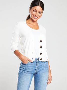 v-by-very-v-neck-button-cardigan-cream