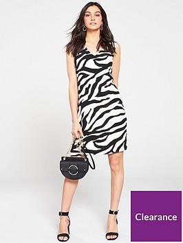 wallis-graphic-zebra-shiftnbspdress-monochrome