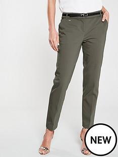wallis-belted-trouser-khaki