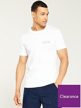 denham-sashiko-crew-neck-t-shirt-white
